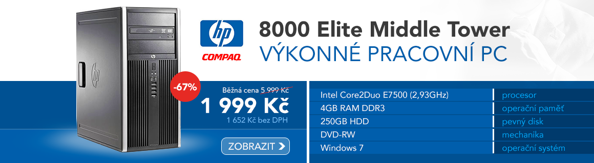 HP elite tower 8000 P4225