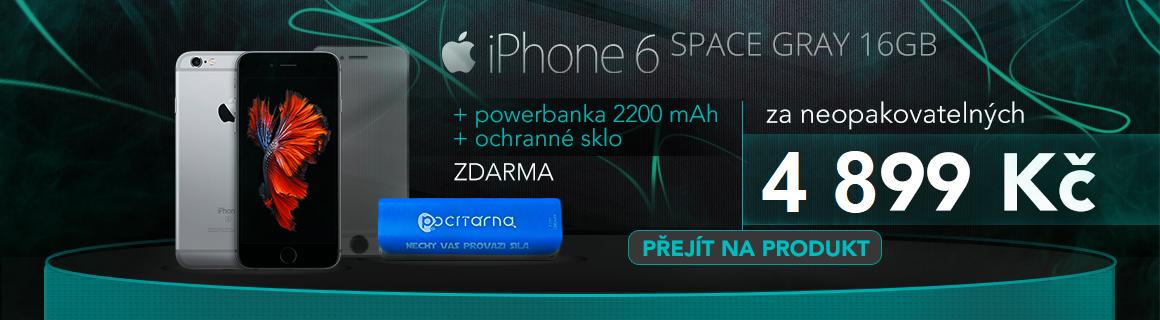 Iphone 6 16GB + power banka zdarma