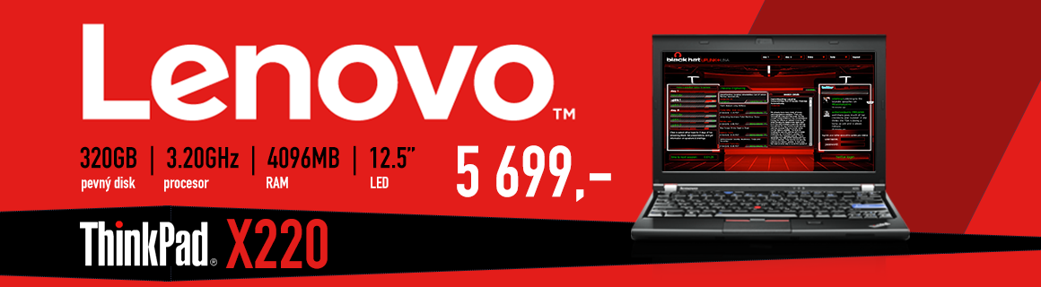 Lenovo Thinkpad x220 2294 5699Kč