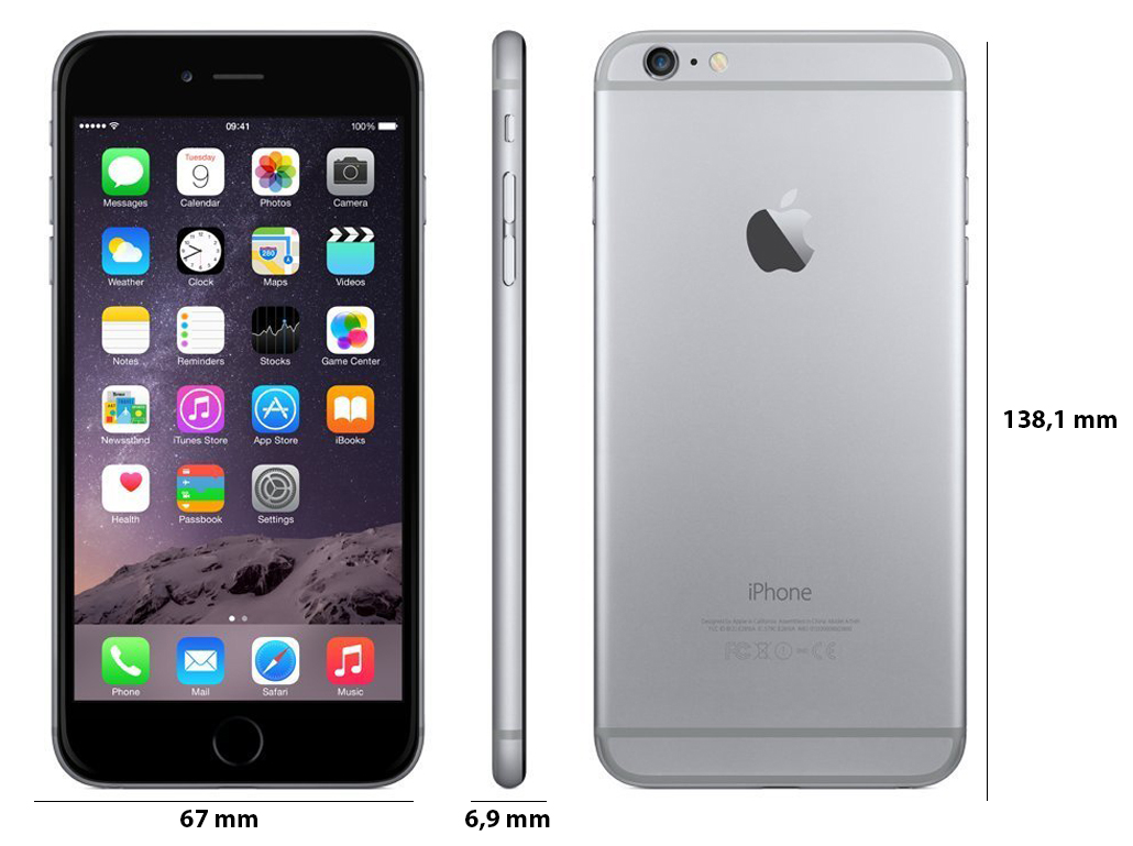 Apple iPhone 6 128GB Space Grey_1