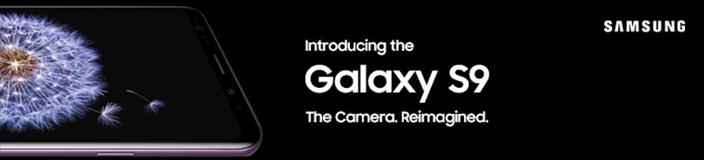 Samsung Galaxy S9 Banner