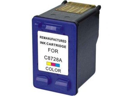 Alternativní inkoustová cartridge kompatibilní s: HP 28 C8728A color č. 28 (18ml)