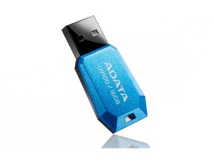 ADATA Flash Disk 8GB USB 2.0 DashDrive UV100, modrý