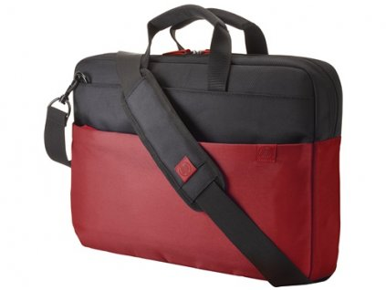 """HP 15.6"""" Duotone BriefCase - Red - BAG"""