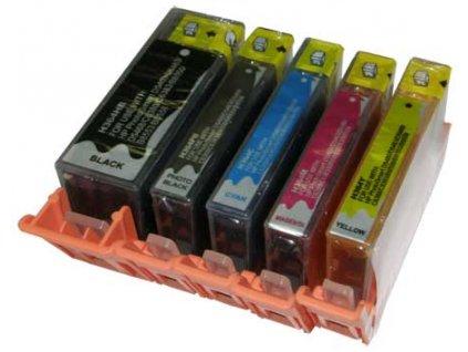 Sada 5ks alternativních inkoustových cartridgí s: Canon PGI-520 a CLI-521