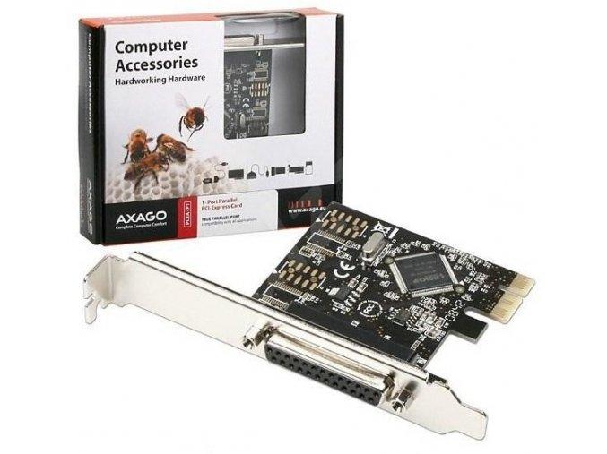 AXAGO PCIA P1 PCI adapter 1x paralel port LPT 2