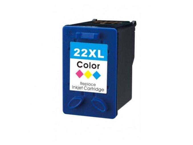 Alternativní inkoustová cartridge kompatibilní s: HP 22 barevná C9352 XL (18ml)