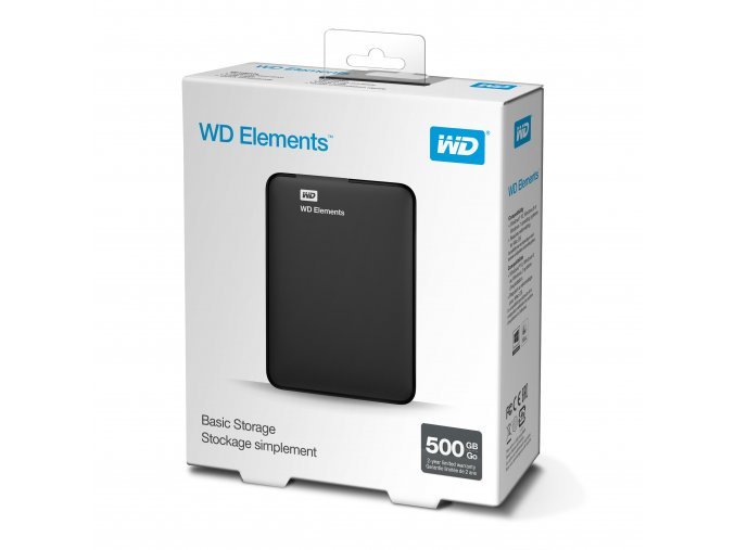WD Elements Portable 500GB 1