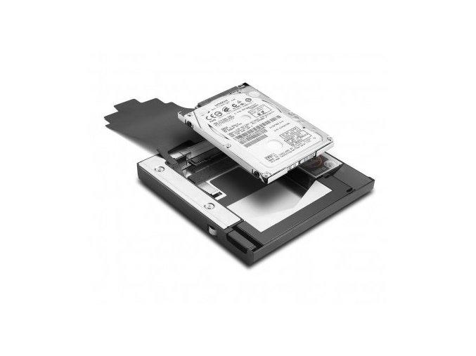 2. pevný disk namísto DVD mechaniky pro Lenovo ThinkPad T400, T410, T500