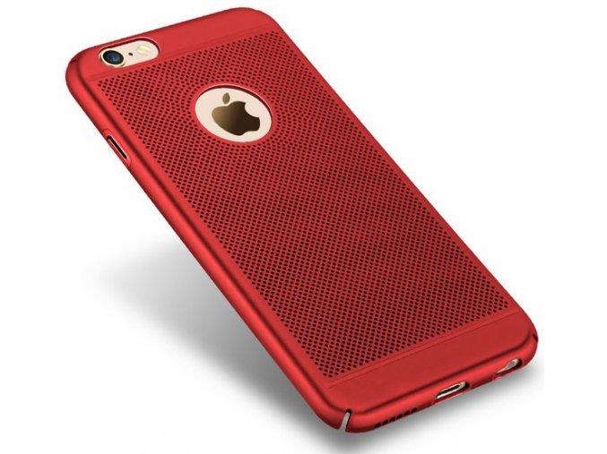 Ochranný kryt pro Apple iPhone 6 Červená