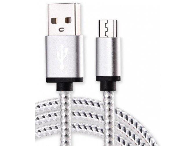 Micro USB White