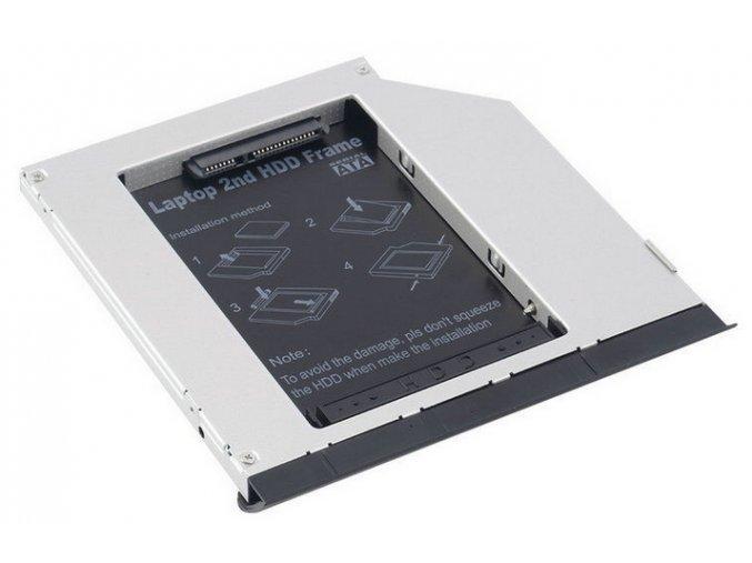 2. pevný disk namísto DVD mechaniky pro DELL Latitude E6320, 6420, 6520, 4300, 4310