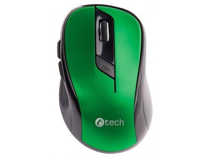 Bezdrátová Myš C TECH WLM 02 Zelená 2