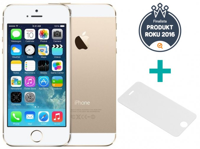 iphone 5s gold 5 produkt roku sklo