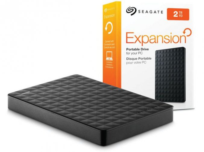 SEAGATE Expansion Portable 2TB Ext. 2.5 USB 3.0 1