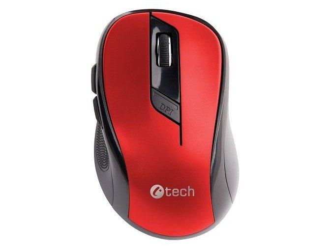 Bezdrátová Myš C TECH WLM 02 Červená 2