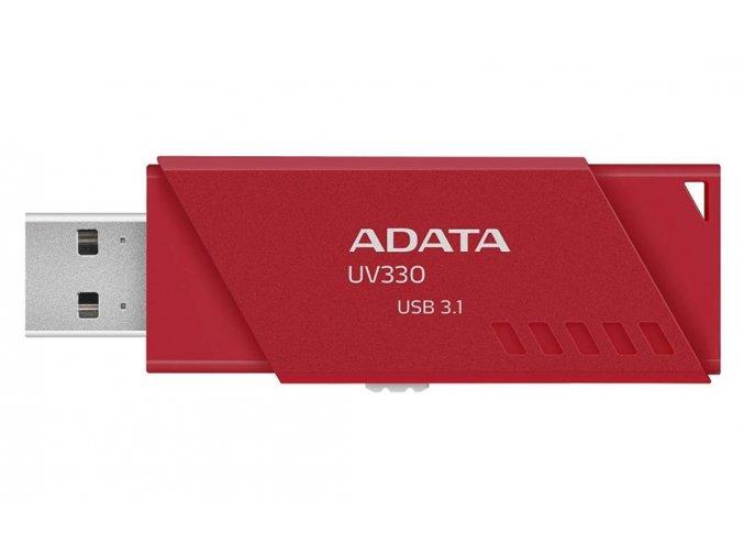 ADATA UV330 Flash Disk 64GB, USB 3.0, Červená