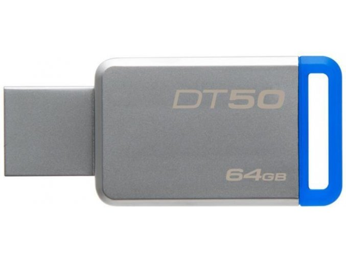Kingston DataTraveler DT50 64GB, USB 3.0, Kovový 2