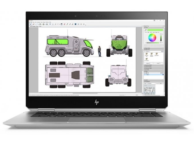 Hp ZBook 15 Studio x360 G5 1