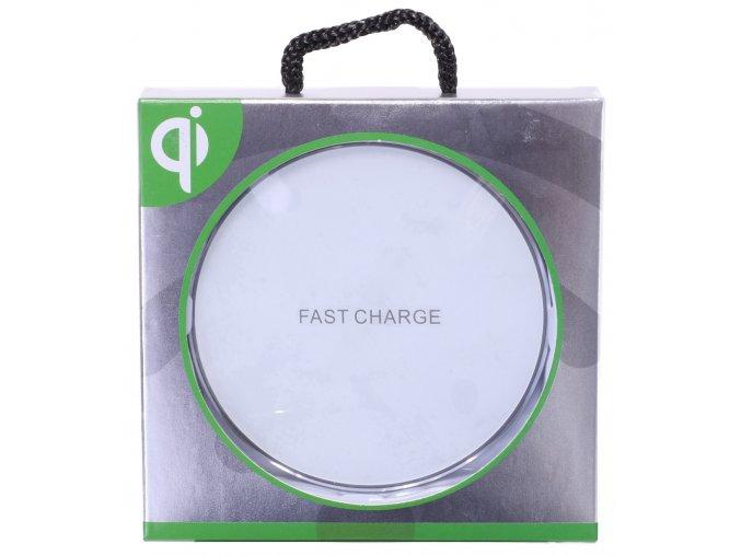 Bezdrátová nabíjecí podložka Wireless Qi - Bílá