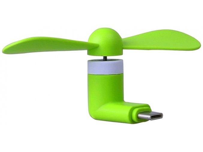 USB C Větráček – Zelený 2