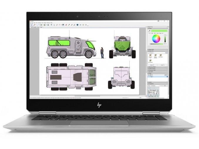 Hp ZBook 15 Studio x360 G5 1