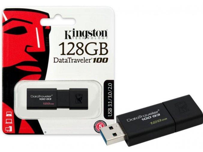 Kingston DataTraveler100 G3 USB Flash Disk 128GB 1