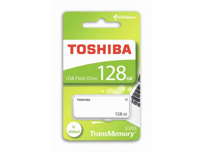 TOSHIBA U203 Flash Disk 128GB, USB 2.0 1