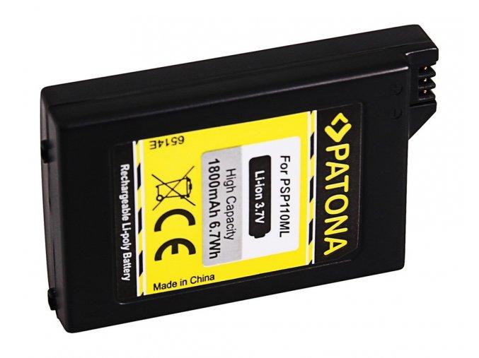 Aku Sony PSP-1000 Portable 1800mAh Li-lon 3,7V