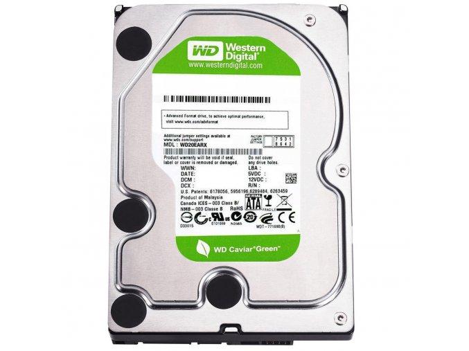 "Western Digital Caviar AV GreenPower 250GB, SATA II, 3,5""  Výměna za stávající disk"