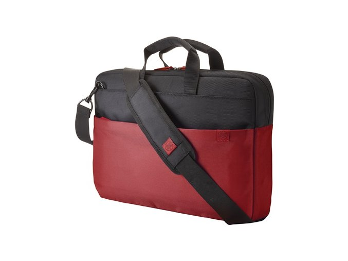 "HP 15.6"" Duotone BriefCase - Red - BAG"