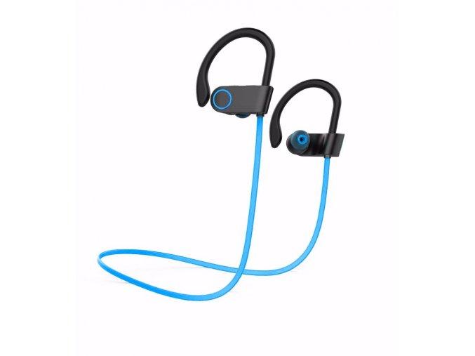Wireless Sports Earbuds D-20 Blue