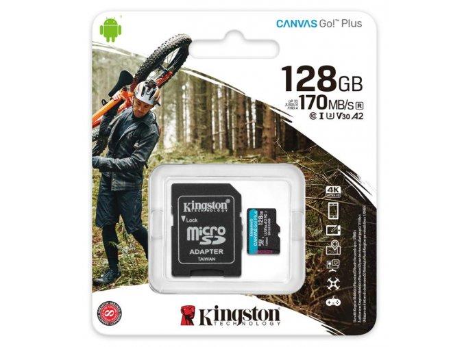 Kingston Micro SDXC Canvas Go! Plus 128GB (2)