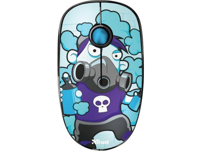 Bezdrátová Myš Trust Sketch Modrá 1