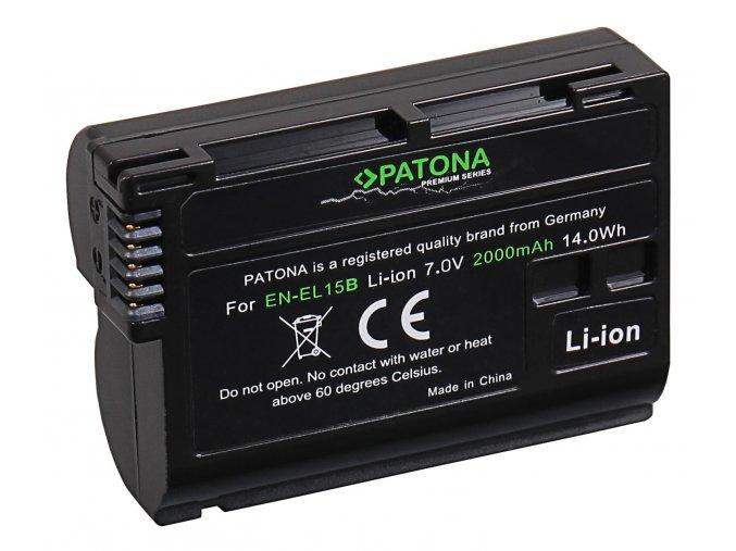 Aku Nikon EN-EL15B 2000mAh Li-Ion Premium