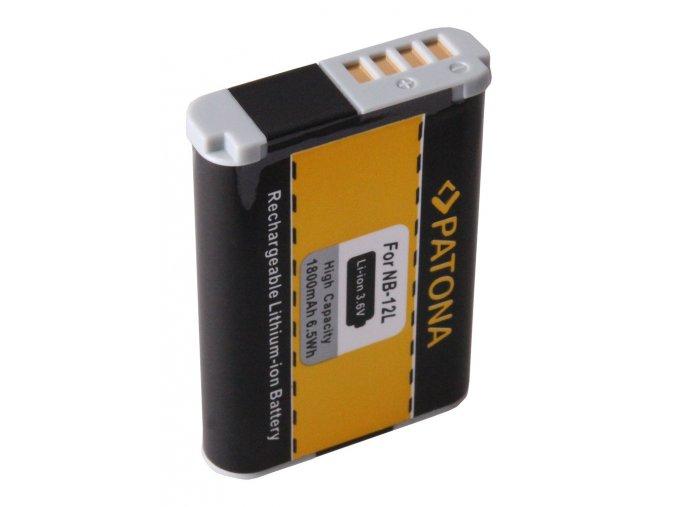 Aku Canon NB-12L 1800mAh Li-Ion