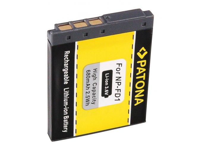 Aku Sony NP-FD1/BD1 680mAh Li-Ion