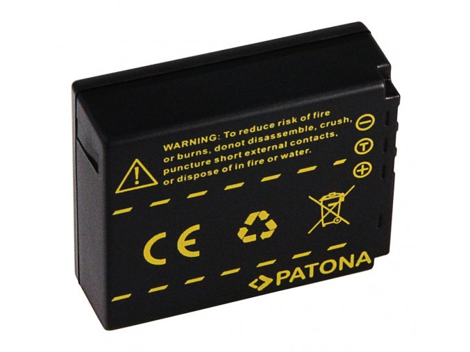 Aku Panasonic CGA-S007E Li-Ion 1000mAh Li-Ion