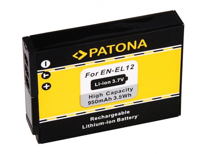 Aku Nikon ENEL12 800mAh Li-Ion