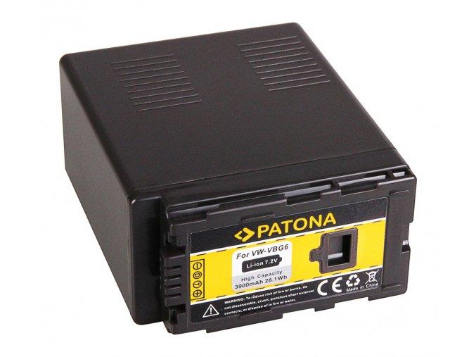 Aku Panasonic VW-VBG6 3900mAh Li-Ion