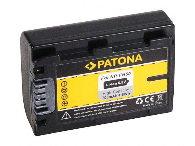 Aku Sony NP-FH50 700mAh Li-Ion