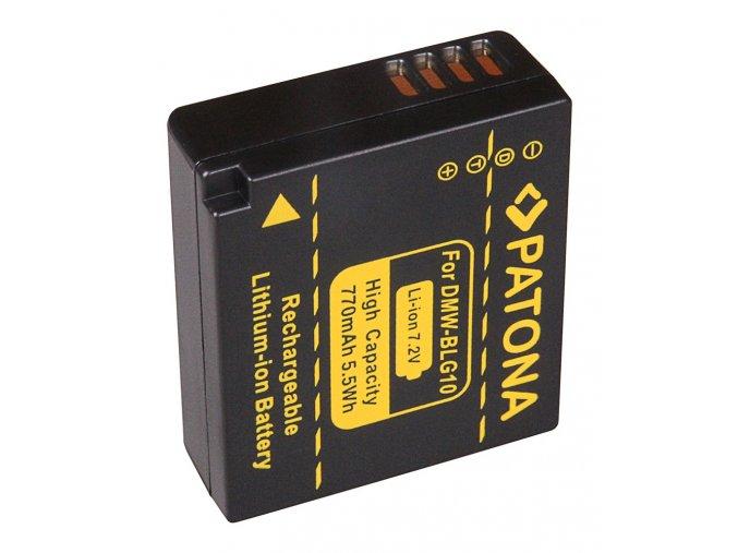 Aku Panasonic DMW-BLG10E 770mAh Li-Ion