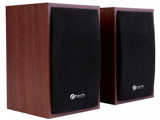 Reproduktory C TECH SPK 09 dřevěné 1