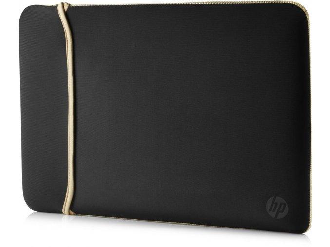 "HP 15.6"" Reversible Sleeve – BlackGold 1"