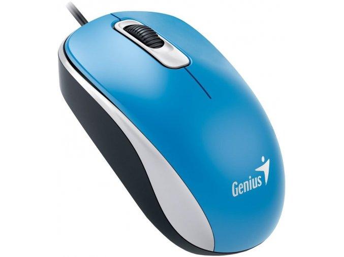 Drátová Myš Genius DX 110 Modrá 1