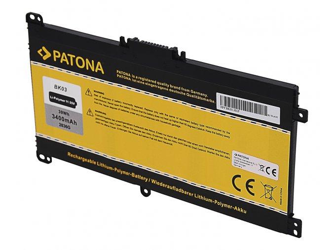 Aku HP Pavilion X360 3400mAh Li-Pol 11,55V BK03 / BK03XL