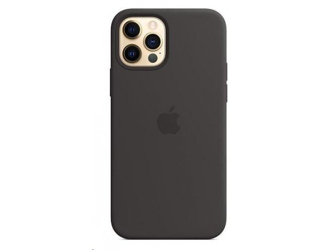 Ochranný kryt pro iPhone 12 apple s MagSafe Černý 2