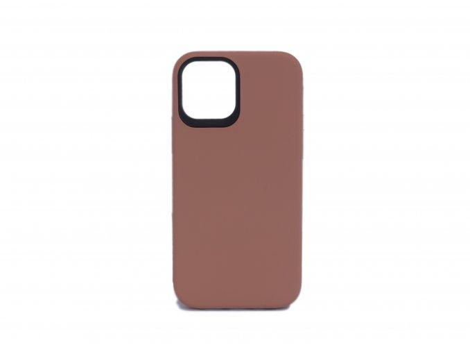 Ochranný kryt pro iPhone Pro 12 Max - Hnědá