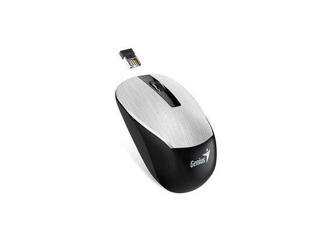Bezdrátová Myš GENIUS NX-7015 - Stříbrná