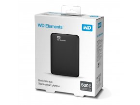 WD Elements Portable 500GB 1